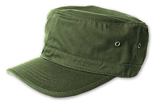 Magic Washed Military Hat - Army