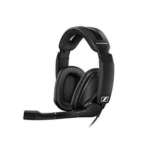 Sennheiser GSP 302 Closed Back Gaming Headset for PC, Mac, PS4 and Xbox One - black by Sennheiser Consumer Audio
