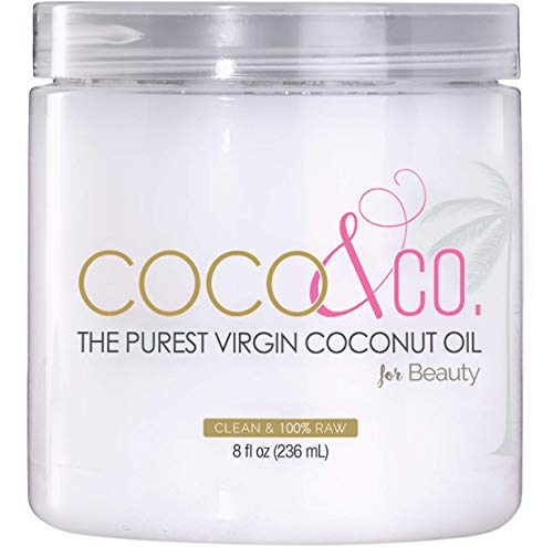 Coconut Oil for Hair & Skin By COCO&CO. Beauty Grade 100% RAW (8oz)