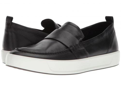 ECCO(エコー) メンズ 男性用 シューズ 靴 スニーカー 運動靴 Soft 8 Loafer - Black [並行輸入品] B07BLT56K5
