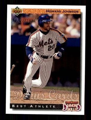 Amazoncom 1992 Upper Deck 720 Howard Johnson New York