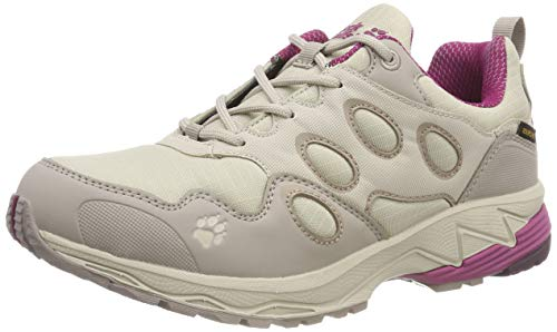 Jack Wolfskin Venture Fly Texapore W, Zapatos de Low Rise Senderismo para Mujer Gris (Amethyst 2552)