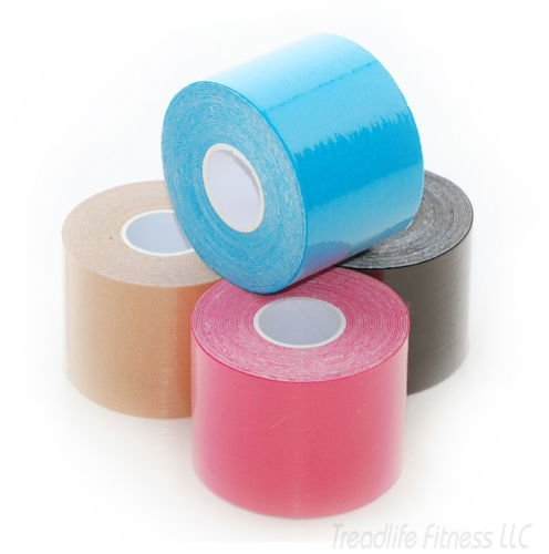 UPC 683405657491, Treadlife Fitness Kinesiology Tape - Choose Your Color! - Muscle Wrap - Adhesive Cotton Bandage (All 4 Colors)