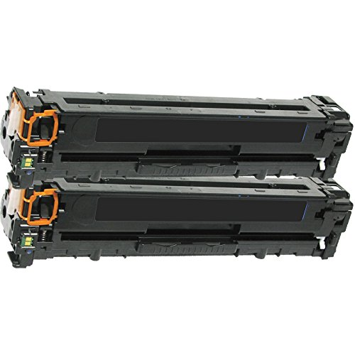 2 Inktoneram Replacement toner cartridges for HP CF380X CF380A 312A 312X Black Toner Cartridges Color LaserJet Pro M476dw MFP M476dn M476nw