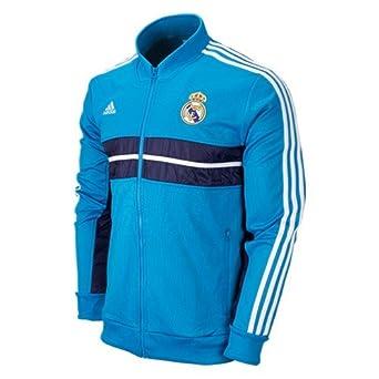 Chaqueta Azul Y Adidas Madrid f Amazon Ropa Color C es Real RAqYI