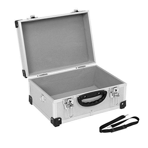 Alukoffer Aluminiumkiste Werkzeugkiste Lagerbox Leergewicht 2600g VARO