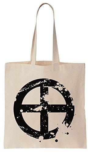 Drifters Shimazu Toyohisa Symbol Sacchetto di cotone tela di canapa