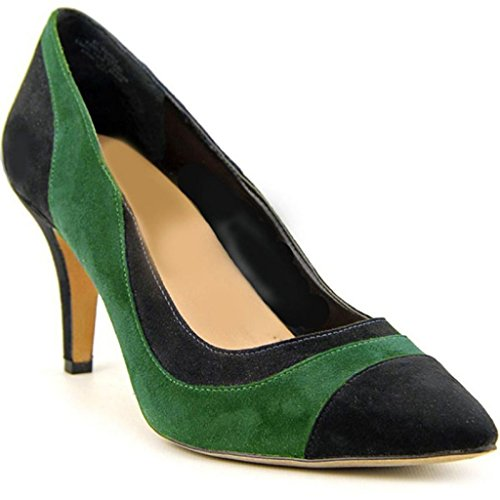 11sunshop Pumpe Suede Modell KIA HGilliane by Design in 33-44 Black Green