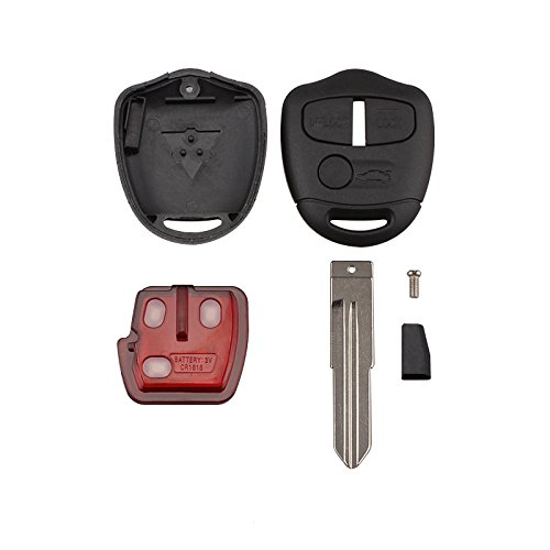 WOVELOT 3 Button Smart Remote Key FOB 433MHz ID46 Chip per Mitsubishi//Lancer Outlander