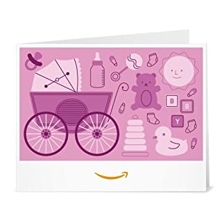 Amazon Gift Card - Print - Baby Icons Pink (B01LYMXKCY) | Amazon price tracker / tracking, Amazon price history charts, Amazon price watches, Amazon price drop alerts