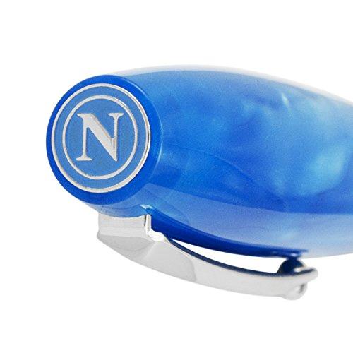 Montegrappa Fortuna Special Edition Società Sportiva Calcio Napoli Blue Ballpoint Pen ISFONBPC by Montegrappa (Image #4)