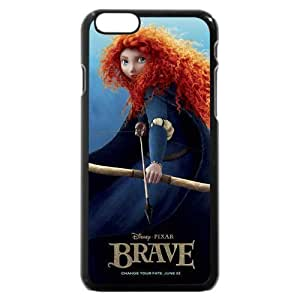 Andre-case Customized Black Hard Plastic Disney Brave Princess Merida iPhone 4s case cover, Only fit ET5tLBrNldY iPhone 4s