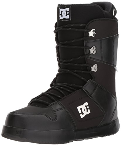 DC Men's Phase Lace Up Snowboard Boots, 8.5, Black