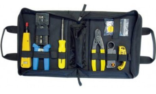 Platinum Tools 90150 Basic HD Twisted Pair & Coax Kit, w/Zip Case. Box. -