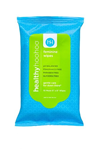 Amazon.com: healthy hoohoo All Natural Gentle Feminine Wipes ...
