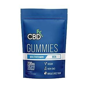 CBDfx Men's Multivitamin CBD Gummies (8 Gumm...