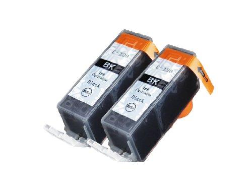 2 Pack Compatible Canon PGI 220 , PGI-220 , PGI220 2 Big Black for use with Canon PIXMA Ip3600, PIXMA Ip4600, PIXMA Ip4700, PIXMA MX860, PIXMA MX870. PIXMA Ip 3600, PIXMA Ip 4600, PIXMA Ip 4700, PIXMA MX 860, PIXMA MX 870.. Ink Cartridges for inkjet print