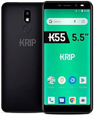 Krip K55 5.5 Pulgadas 4G LTE, Android 8.1 Oreo (Go Edition), 2 GB ...