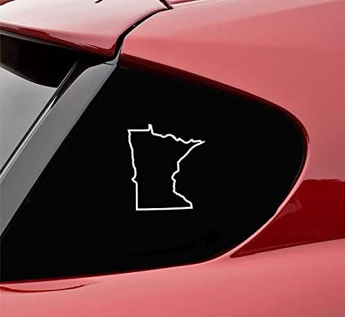 State Sticker Laptop Decal MN Car Decal Home State Car Decal MN Bumper Sticker Minnesota Decal 5/'/' Watercolor Minnesota Sticker