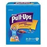 51383104 Toddler Training Pants Pull-Ups Learning Designs Pull On 2T - 3T Disposable Heavy Absorbency