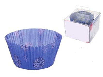 Juego 88 piezas Moldes Decoración Frozen, Hielo – Moldes de Papel para cupcakes, magdalenas