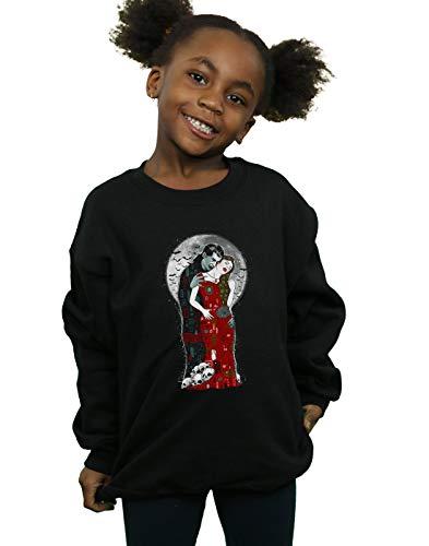 Vincent Trinidad Girls Vampire's Kiss Sweatshirt Black 12-13 Years