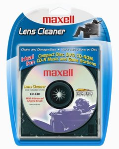 The Great Cleaner, CD Lens, CD-340 - 190048 by Hitachi