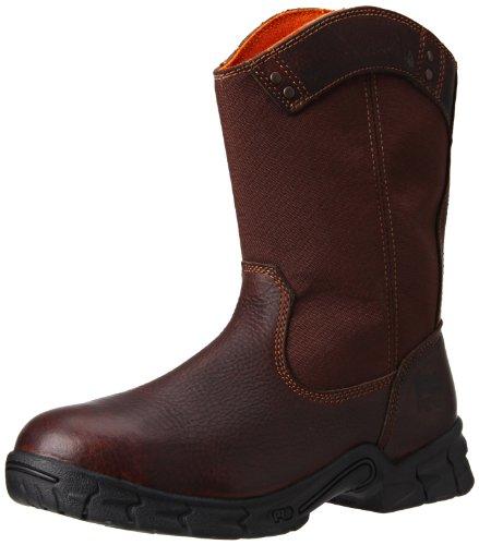 Timberland PRO Men's Excave Wellington Steel Toe Work Shoe,Brown,9.5 W US