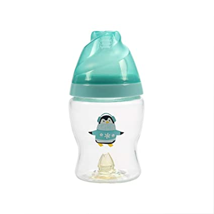 WDJZDBA Suministros maternales e infantiles Creative Chupete para bebés Botella de vidrio Capacidad amplia de la
