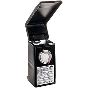 Intermatic ML44T 44 Watt Low Voltage Lighting Transformer, Black