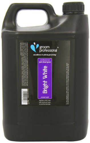Groom Professional Bright White Shampoo, 4 Litre