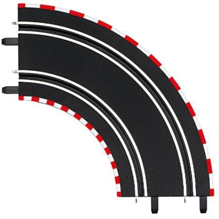 1/43 Carrera Go!!! Curve Track 90 Degree by Carrera USA (Image #1)