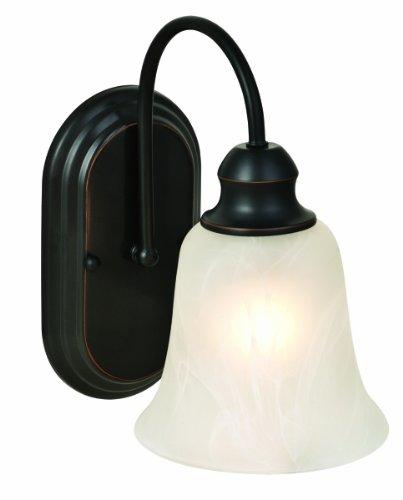 Design House 519363 Ridgeway 1 Light Wall Light, Oil Rubbed Bronze Review