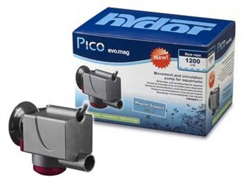 Hydor Pico Evo-Mag 300 Circulation Pump with Magnet Mount for Aquariums and Terrariums 300 GPH