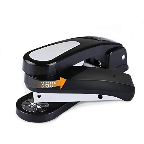 Spin Swivel Stapler with 2000 Staples - 360 Degree Rotating Stapler Head (20 Sheets Capacity) ()