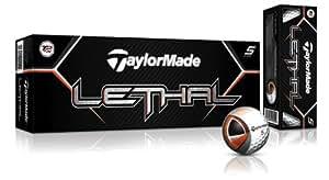 TaylorMade Lethal Golf Ball 12pk White