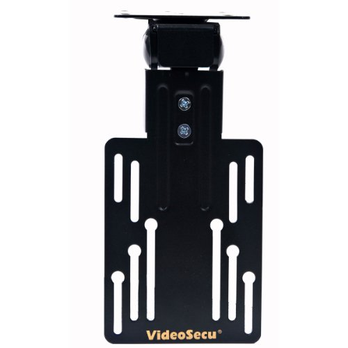 VideoSecu Kitchen Under Cabinet TV Ceiling Mount Flip Folding Bracket,110 Degree Tilt,180 Degrees Swivel, Fold Down for most 13 to 30 inch LCD LED TV Monitor Flat Screens up to VESA 100x100 CXL - Lcd Flip Down Under Cabinet
