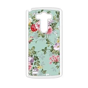 Elegent Flower Vintage Style Phone Case for LG G3