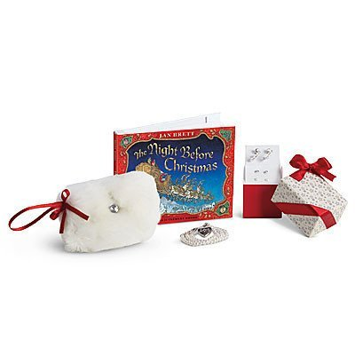 american girl holiday accessories and gift set - Christmas Decorations For American Girl Dolls