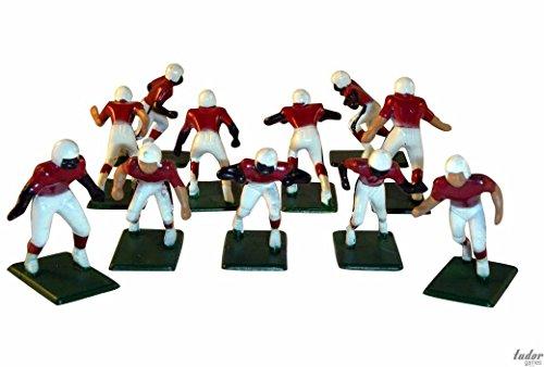 Arizona Cardinals White Uniform NFL Action Figure Set by Tudor Games, Inc.