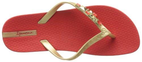 Ipanema Women's Mystic Flip Flop Red/Gold clteVG