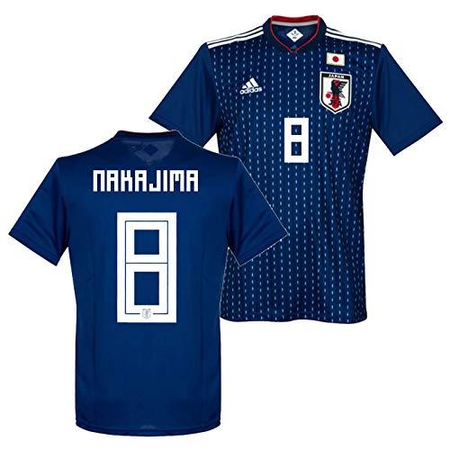 adidas サッカー日本代表 18-19 ホーム レプリカ ユニフォーム 半袖 No.8 中島 CV5638/8N  Small