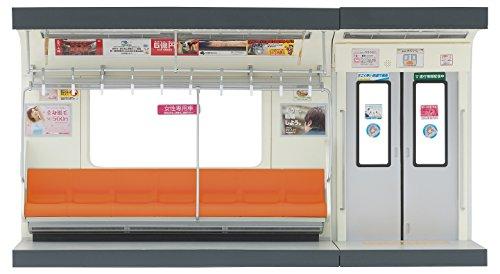 部品模型シリーズ 1/12 内装模型 通勤電車 オレンジ色シート