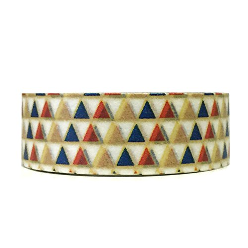 Wrapables Colorful Patterns Masking Pyramids