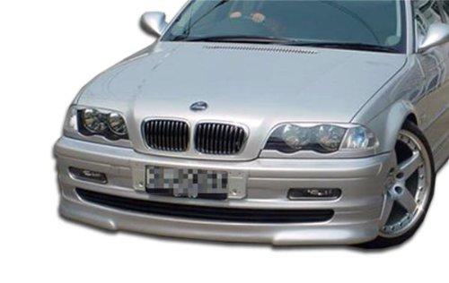 1999-2001 BMW 3 Series E46 4DR Duraflex Type H Front Lip Under Spoiler Air Dam - 1 Piece (Overstock) (4dr Duraflex Fiberglass Type)