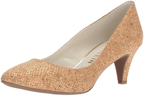 Anne Klein Women's Rosalie Pump, Light Gold Cork, 8.5 M ()