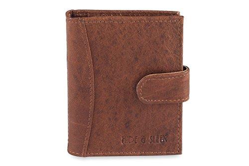 Hide & Sleek Brown Credit Card Holder