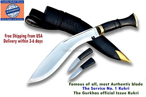 Knife Jungle - Gurkha Official Issued - Authentic Kukri Knife - 10