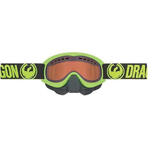 Dragon Alliance MDX Adult Snowmobile Goggles - White/Luma Amber/One Size
