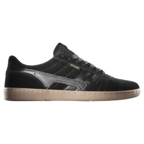 ETNIES Skateboard Shoes BARCI BLACK/BLACK/GUM Size 8.5